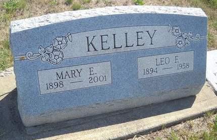 KELLEY, MARY E - Lucas County, Iowa   MARY E KELLEY