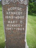 KENNEDY, GEORGE - Lucas County, Iowa | GEORGE KENNEDY