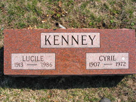 KENNEY, LUCILLE - Lucas County, Iowa | LUCILLE KENNEY