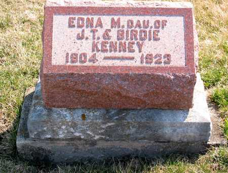 KENNEY, EDNA - Lucas County, Iowa | EDNA KENNEY
