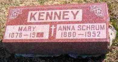 KENNEY SCHRUM, ANNE - Lucas County, Iowa | ANNE KENNEY SCHRUM