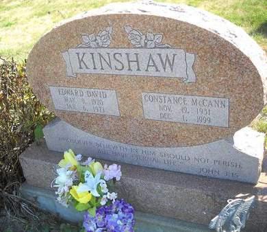 KINSHAW, EDWARD DAVID - Lucas County, Iowa | EDWARD DAVID KINSHAW