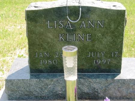 KLINE, LISA ANN - Lucas County, Iowa   LISA ANN KLINE