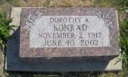 KONRAD, DOROTHY A - Lucas County, Iowa   DOROTHY A KONRAD