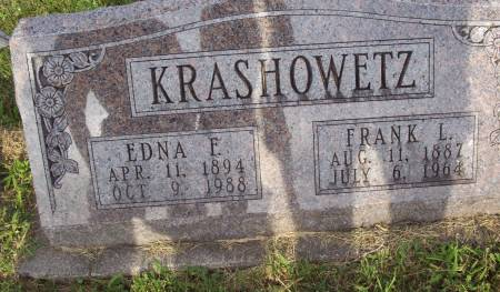 KRASHOWETZ, EDNA F. - Lucas County, Iowa   EDNA F. KRASHOWETZ
