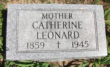 MCKILLIP LEONARD, CATHERINE - Lucas County, Iowa | CATHERINE MCKILLIP LEONARD