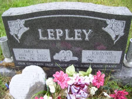 LEPLEY, IMO I. - Lucas County, Iowa | IMO I. LEPLEY