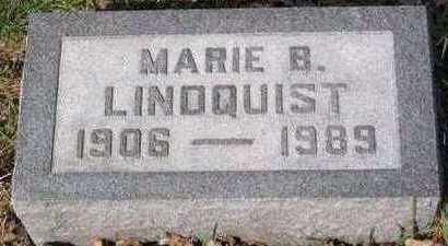 LINDQUIST, MARIE - Lucas County, Iowa | MARIE LINDQUIST