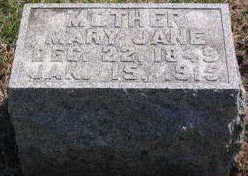 LINSTROM, MARY JANE - Lucas County, Iowa | MARY JANE LINSTROM