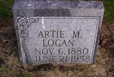 LOGAN, ARTIE M - Lucas County, Iowa | ARTIE M LOGAN