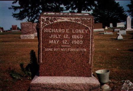 LONEY, RICHARD - Lucas County, Iowa | RICHARD LONEY