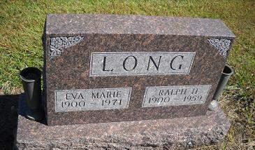 LONG, EVA MARIE - Lucas County, Iowa | EVA MARIE LONG