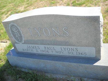 LYONS, JAMES PAUL - Lucas County, Iowa | JAMES PAUL LYONS