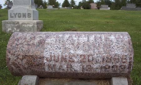 LYONS, MATTHEW - Lucas County, Iowa   MATTHEW LYONS