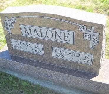 MALONE, TERESA M - Lucas County, Iowa | TERESA M MALONE