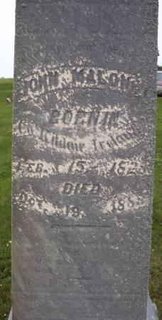MALONEY, JOHN - Lucas County, Iowa   JOHN MALONEY
