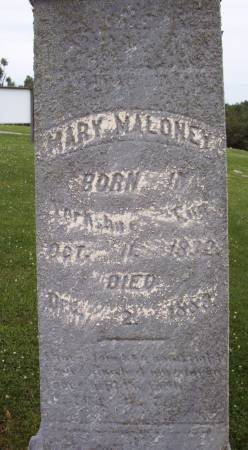 MALONEY, MARY - Lucas County, Iowa   MARY MALONEY