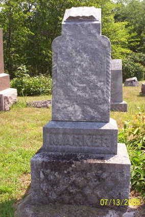 MARKER, DAVID - Lucas County, Iowa | DAVID MARKER
