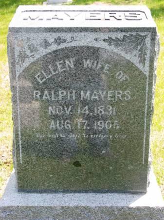 MAYERS, ELLEN - Lucas County, Iowa   ELLEN MAYERS