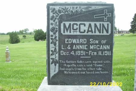 MCCANN, EDWARD - Lucas County, Iowa | EDWARD MCCANN
