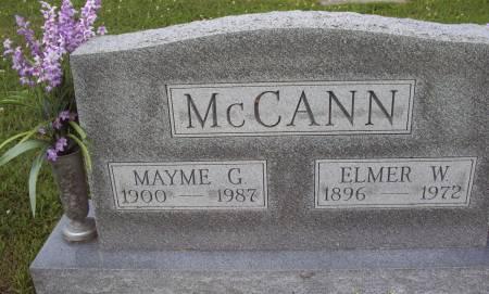 MCCANN, MAYME G. - Lucas County, Iowa | MAYME G. MCCANN