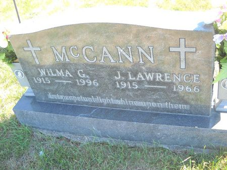 MCCANN, WILMA G - Lucas County, Iowa | WILMA G MCCANN