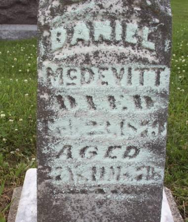 MCDEVITT, DANIEL - Lucas County, Iowa | DANIEL MCDEVITT