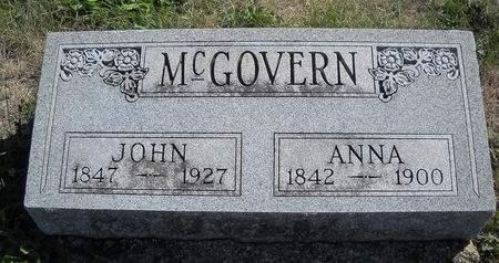 MCGOVERN, JOHN - Lucas County, Iowa | JOHN MCGOVERN