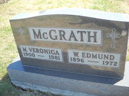 MCGRATH, M. VERONICA - Lucas County, Iowa   M. VERONICA MCGRATH
