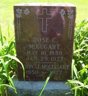 MCGUGART, ROSE C. - Lucas County, Iowa | ROSE C. MCGUGART