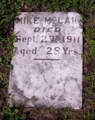 MCLANE, MIKE - Lucas County, Iowa   MIKE MCLANE