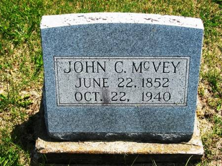MCVEY, JOHN C - Lucas County, Iowa | JOHN C MCVEY