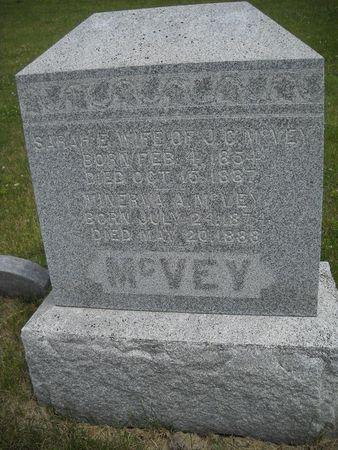 MCVEY, SARAH E - Lucas County, Iowa | SARAH E MCVEY