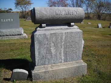 MEANS, JOHN - Lucas County, Iowa | JOHN MEANS
