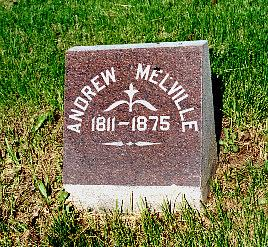 MELVILLE, ANDREW - Lucas County, Iowa   ANDREW MELVILLE