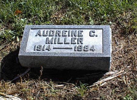 MILLER, AUDREINE C. - Lucas County, Iowa | AUDREINE C. MILLER