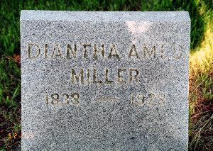 AMES MILLER, DIANTHA - Lucas County, Iowa | DIANTHA AMES MILLER
