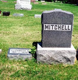MITCHELL, ELIZABETH H - Lucas County, Iowa   ELIZABETH H MITCHELL