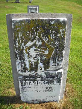 MORRIS, FRANCES A - Lucas County, Iowa | FRANCES A MORRIS