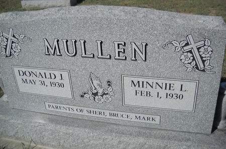 MULLEN, DONALD J - Lucas County, Iowa | DONALD J MULLEN