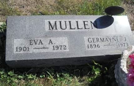 MULLEN, GERMAYNE J - Lucas County, Iowa   GERMAYNE J MULLEN