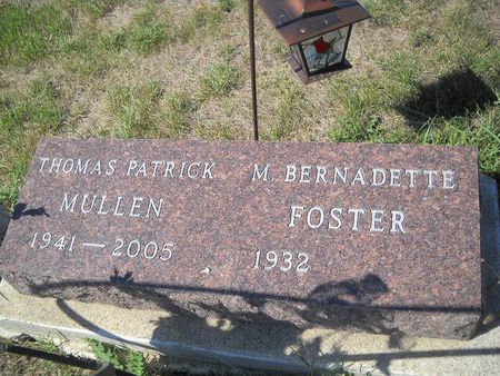 MULLEN, THOMAS PATRICK - Lucas County, Iowa   THOMAS PATRICK MULLEN