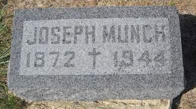 MUNCH, JOSEPH - Lucas County, Iowa   JOSEPH MUNCH