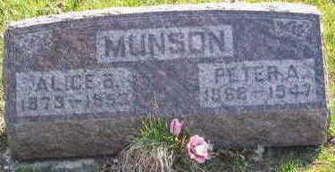 MUNSON, ALICE BETHANY - Lucas County, Iowa | ALICE BETHANY MUNSON