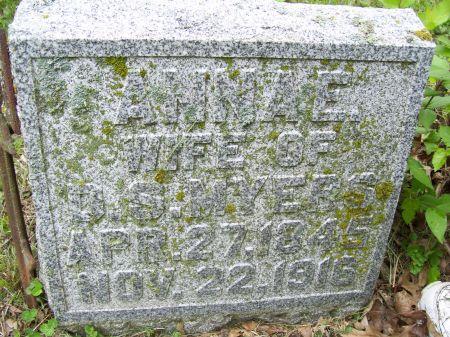 MYERS, ANNA E. - Lucas County, Iowa   ANNA E. MYERS
