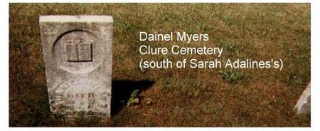 MYERS, DANIEL - Lucas County, Iowa   DANIEL MYERS