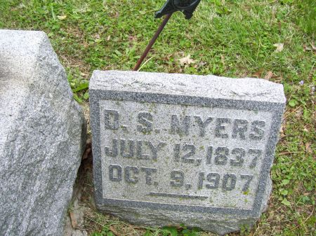 MYERS, D. S. - Lucas County, Iowa | D. S. MYERS