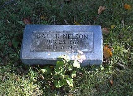 KINKEAD NELSON, KATE ELIZABETH - Lucas County, Iowa | KATE ELIZABETH KINKEAD NELSON