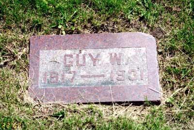 NISWENDER, GUY WILMER - Lucas County, Iowa   GUY WILMER NISWENDER