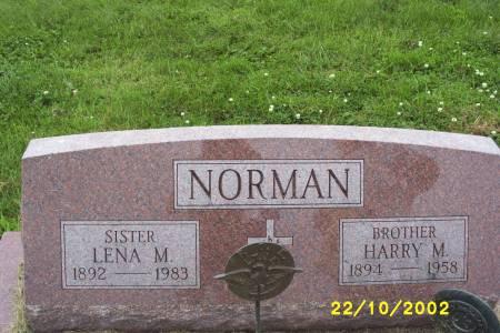 NORMAN, HARRY M. - Lucas County, Iowa   HARRY M. NORMAN
